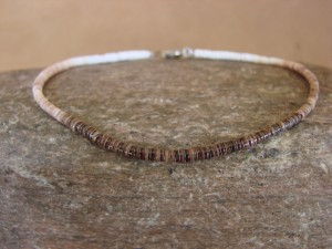 Native American Jewelry Handmade Heishi Bracelet by Ramona Bird