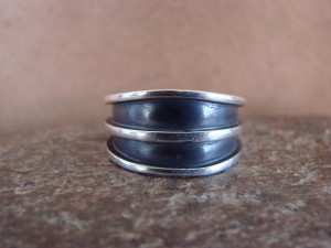 Native American Jewelry Sterling Silver Handmade Ring! Size 9 1/2