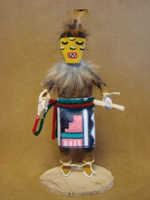 Native American Navajo Indian Handmade Comanche Kachina Dancer! by Largo