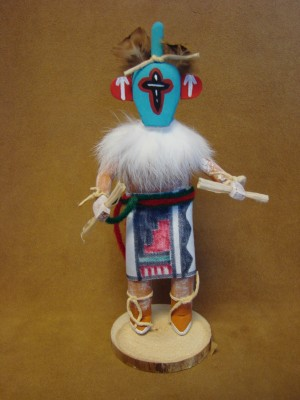 Native American Navajo Indian Handmade Chasing Star Kachina Dancer! by Largo