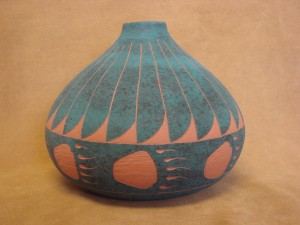 Native American Acoma Pottery Hand Painted Pot by JS Lewis!