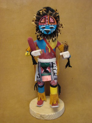 Native American Navajo Indian Handmade Sunface Kachina Dancer! by Largo