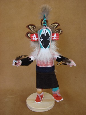 Native American Navajo Indian Handmade Chasing Star Kachina Dancer