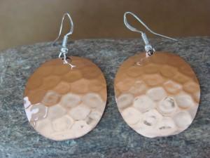 Native American Jewelry Hand Stamped Copper Earrings by Douglas Etsitty!