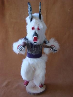 Navajo Indian Handmade Antelope Kachina Dancer by V. Tom!
