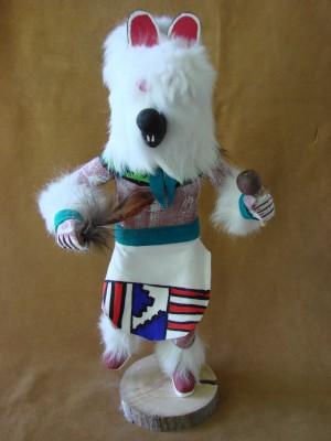 Navajo Indian Handmade Mouse Kachina Dancer by V. Tom!