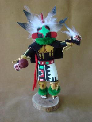 Navajo Indian Handmade Chasing Star Kachina Dancer by B.G!