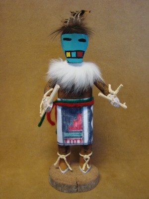 Native American Navajo Indian Handmade Longhair Kachina Dancer! by Largo