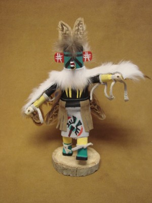 Native American Navajo Indian Handmade Eagle Kachina Dancer