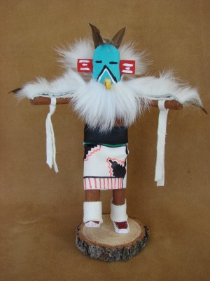 Native American Navajo Indian Handmade Eagle Kachina Dancer