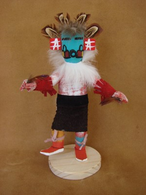 Native American Navajo Indian Handmade Kachina Dancer