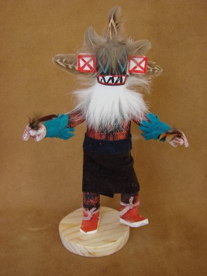 Native American Navajo Indian Handmade Left Handed Kachina Dancer