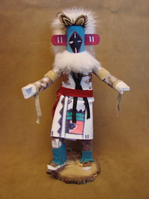 Navajo Indian Handmade Chasing Star Kachina by DP